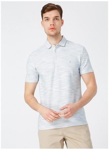 Pierre Cardin Pierre Cardin Mavi Erkek T-Shirt Mavi